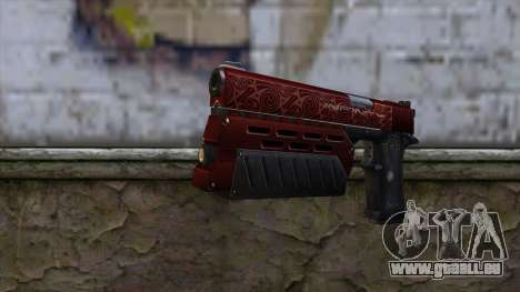 Infinity EX2 Red from CSO NST für GTA San Andreas