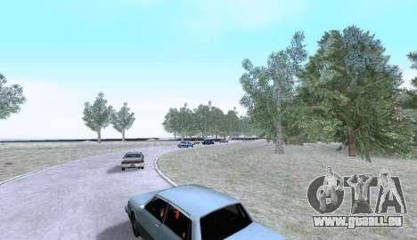 Russian Map 0.5 für GTA San Andreas her Screenshot