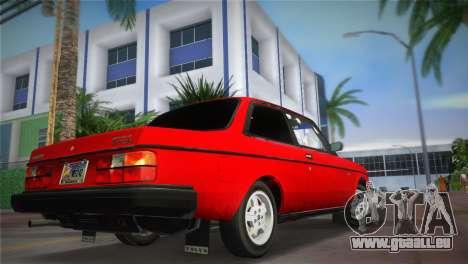 Volvo 242 Turbo Evolution pour une vue GTA Vice City de la gauche