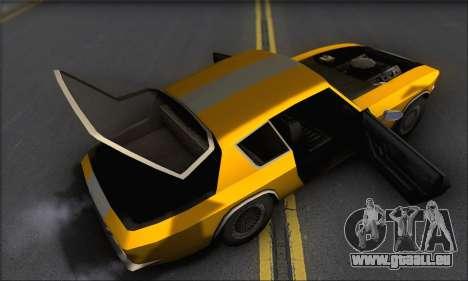 Jensen Intercepter 1971 Fast And Furious 6 pour GTA San Andreas vue intérieure