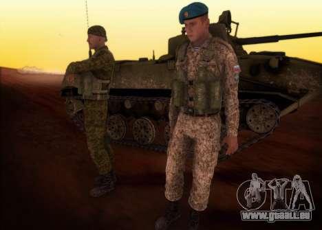 Le RAA. Grenadier de la FCRR pour GTA San Andreas