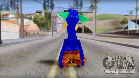 Rico the Penguin from Fur Fighters Playable für GTA San Andreas dritten Screenshot