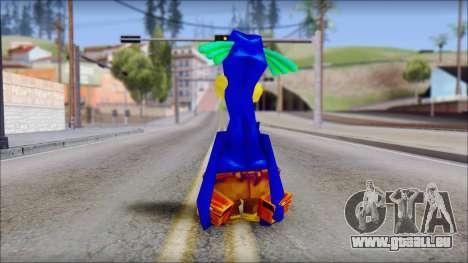 Rico the Penguin from Fur Fighters Playable pour GTA San Andreas troisième écran
