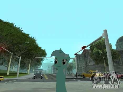 Lyra pour GTA San Andreas deuxième écran