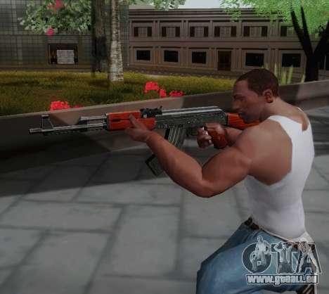 Type 56 pour GTA San Andreas quatrième écran