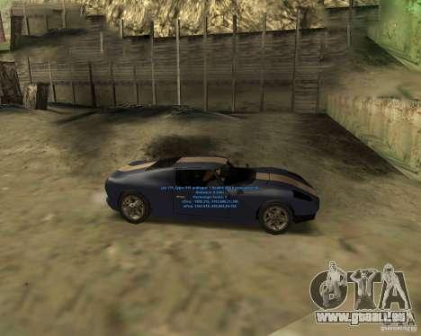 Autorepair pour GTA San Andreas deuxième écran