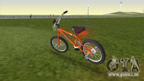 BMX from GTA San Andreas pour une vue GTA Vice City de la gauche