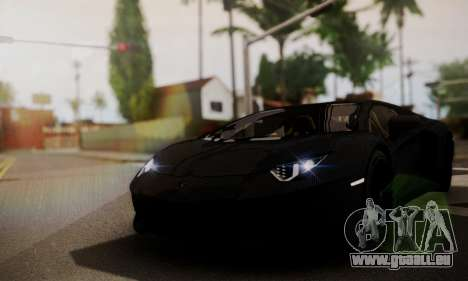 Lamborghini Aventador TT Ultimate Edition pour GTA San Andreas vue de droite