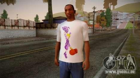 Lostsaga T-Shirt für GTA San Andreas