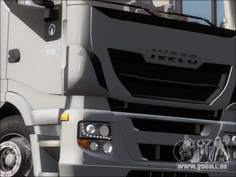 Iveco Stralis HiWay 560 E6 6x4 pour GTA San Andreas salon