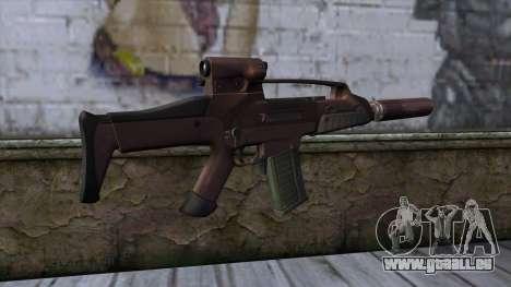XM8 Compact Red pour GTA San Andreas deuxième écran