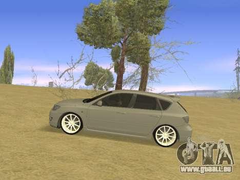 Mazda 3 v2 pour GTA San Andreas laissé vue