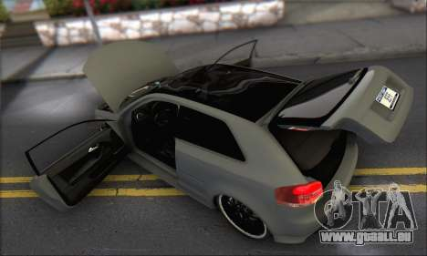 Audi S3 2006 Custom für GTA San Andreas Motor
