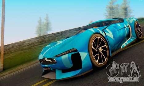 Citroen GT Blue Star pour GTA San Andreas