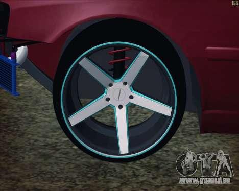 Toyota Chaser Tourer V korch pour GTA San Andreas vue de droite