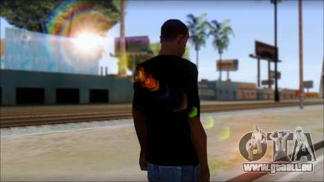 Guitar T-Shirt Mod v2 für GTA San Andreas zweiten Screenshot