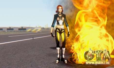 Jessica pour GTA San Andreas troisième écran