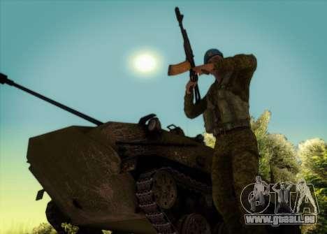 Die RAA. Grenadier CRRF für GTA San Andreas dritten Screenshot