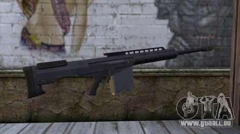 Heavy Sniper from GTA 5 für GTA San Andreas zweiten Screenshot