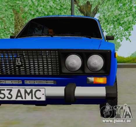 VAZ 21061 pour GTA San Andreas vue de droite