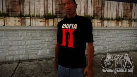 Mafia 2 Black Shirt pour GTA San Andreas