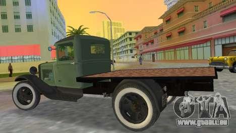 Ford Model AA 1930 pour une vue GTA Vice City de la gauche