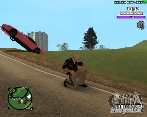 C-HUD by Weezy für GTA San Andreas zweiten Screenshot
