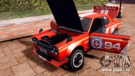 Nissan Skyline 2000 GTR SH für GTA 4 rechte Ansicht