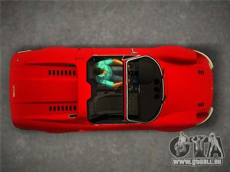 Ferrari 246 Dino GTS 1972 pour GTA Vice City sur la vue arrière gauche