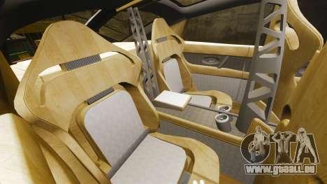 Spyker D8 für GTA 4 Seitenansicht