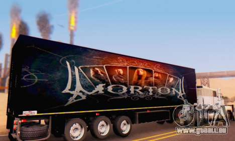 Remorque Chereau Morton Bande 2014 pour GTA San Andreas vue de droite