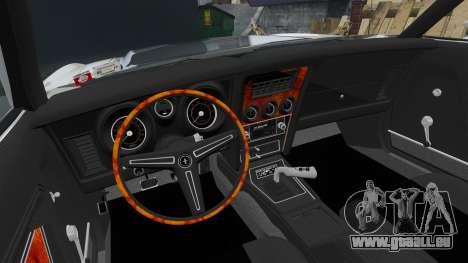Ford Mustang Mach 1 1973 v3.0 GCUCPSpec Edit pour GTA 4 Vue arrière