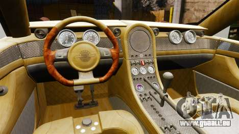 Spyker D8 für GTA 4 Rückansicht