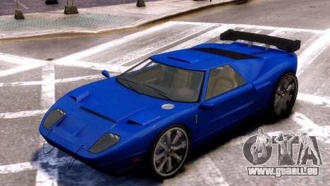 GTA V Bullet pour GTA 4 Vue arrière de la gauche