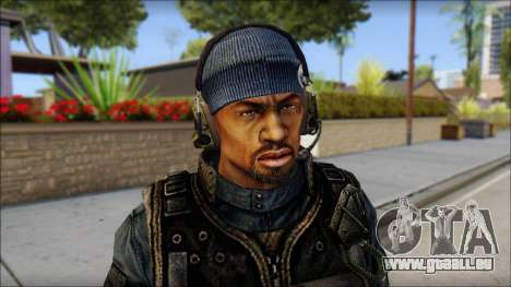 Sami GIGN from Soldier Front 2 pour GTA San Andreas troisième écran