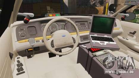 Ford Crown Victoria Sheriff [ELS] Marked für GTA 4 Rückansicht