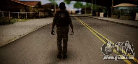 Sicario Del Golfo pour GTA San Andreas deuxième écran