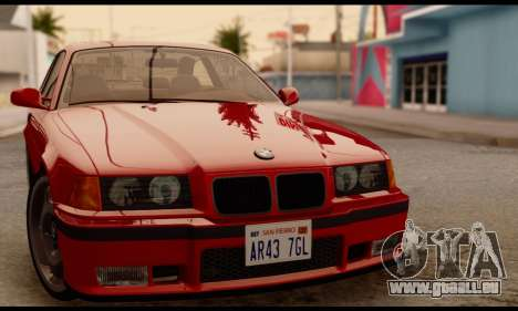 BMW M3 E36 1994 pour GTA San Andreas
