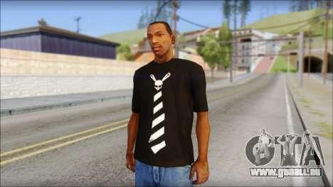 SkullTie T-Shirt für GTA San Andreas