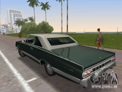 Mercury Park Lane 1964 für GTA Vice City linke Ansicht