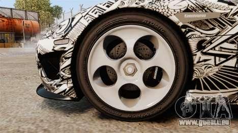 Koenigsegg CCX v1.5 pour GTA 4 Vue arrière