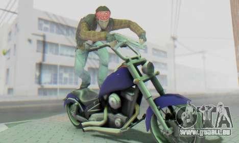 Biker A7X 2 für GTA San Andreas sechsten Screenshot