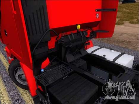 Iveco Stralis HiWay 560 E6 6x4 pour GTA San Andreas vue de dessus