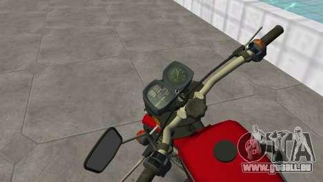 IZH Planeta 5 pour GTA Vice City sur la vue arrière gauche
