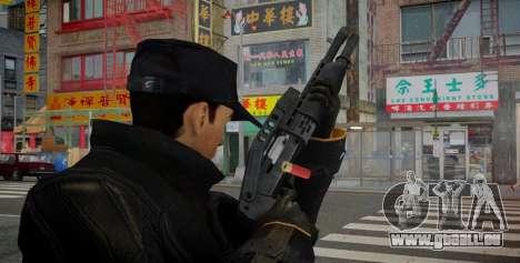 SPAS-12 pour GTA 4 secondes d'écran