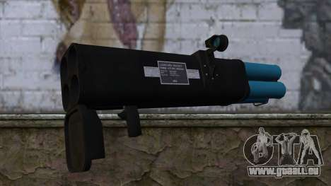 M20 BRS Rocket Launcher für GTA San Andreas zweiten Screenshot