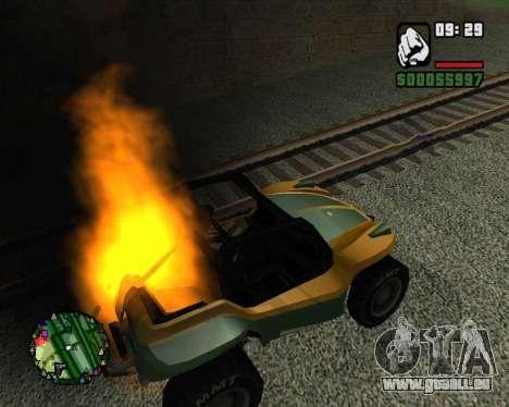 Le coup d'état pour GTA San Andreas troisième écran