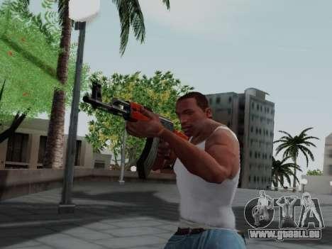Type 56 für GTA San Andreas fünften Screenshot