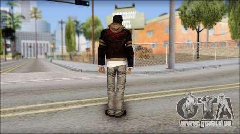 Unhooded Alex from Prototype pour GTA San Andreas deuxième écran