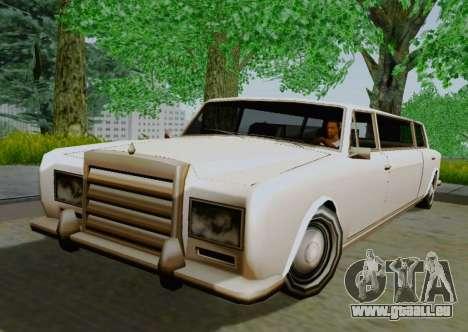 Stafford Limousine pour GTA San Andreas